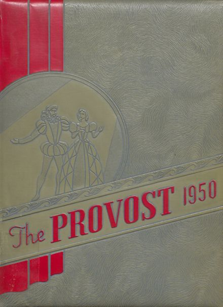 1950 Provo High School Yearbook Cover