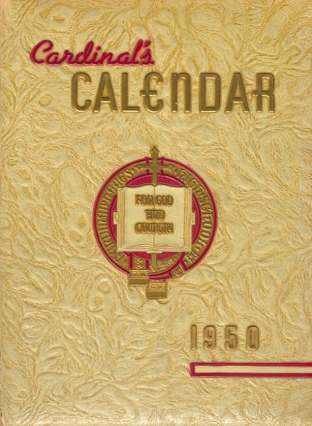 1950 Cardinal Hayes High School Yearbook Cover