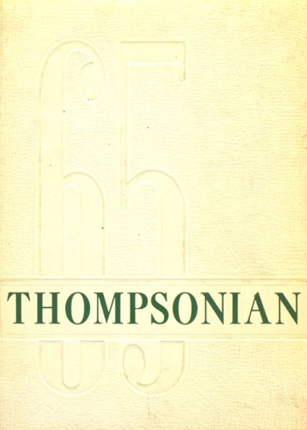 1965 Thompson Public High School Yearbook Cover