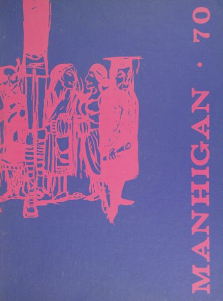 1970 Mansfield High School Yearbook Cover