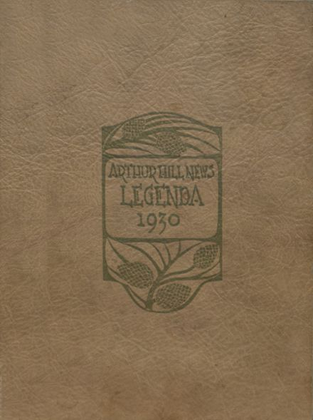 1930 Arthur Hill High School Yearbook Cover