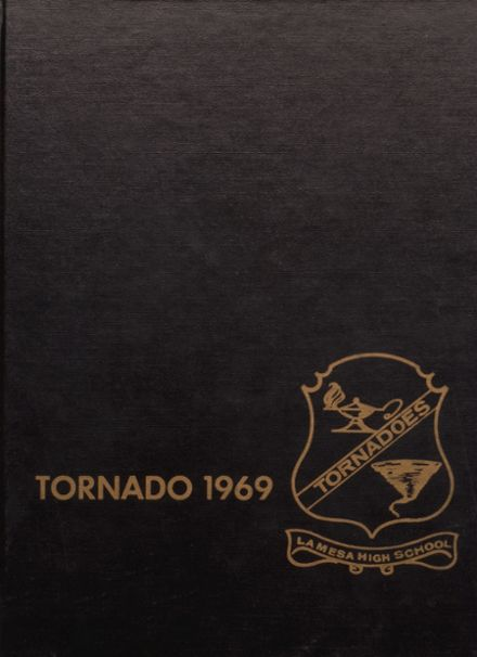 1969 Lamesa High School Yearbook Cover