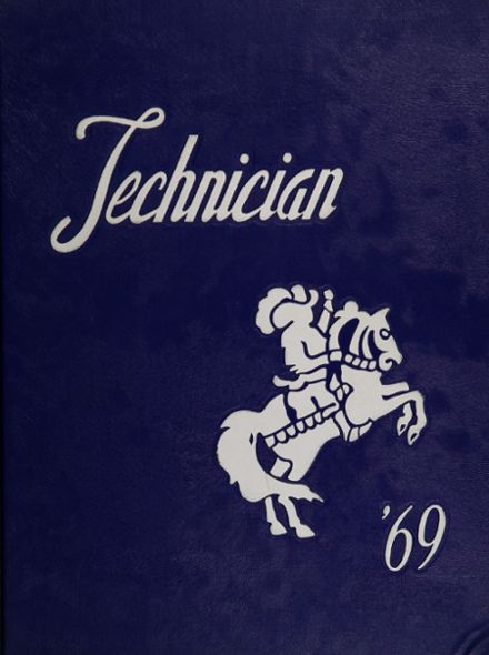 1969 Chicago Vocational Yearbook Cover