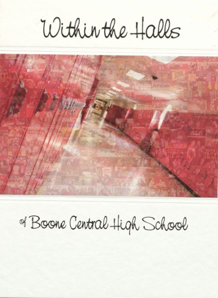 2011 Boone Central High School Yearbook Cover