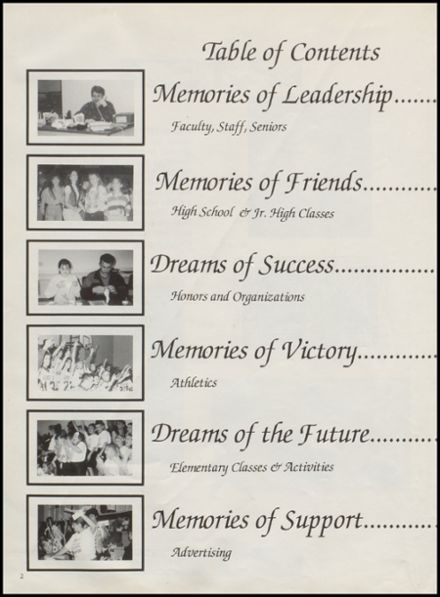 1996 St. Jo High School Yearbook Page 6