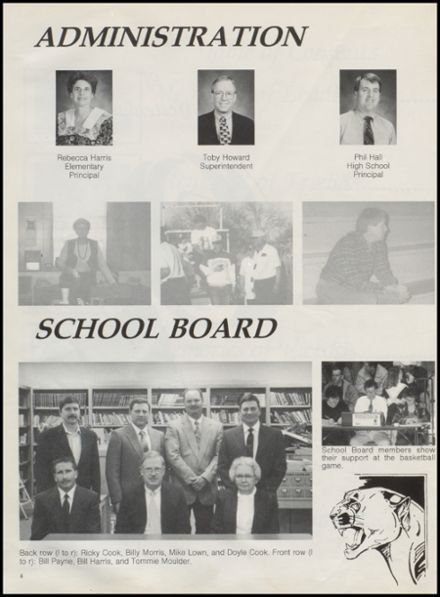 1996 St. Jo High School Yearbook Page 8