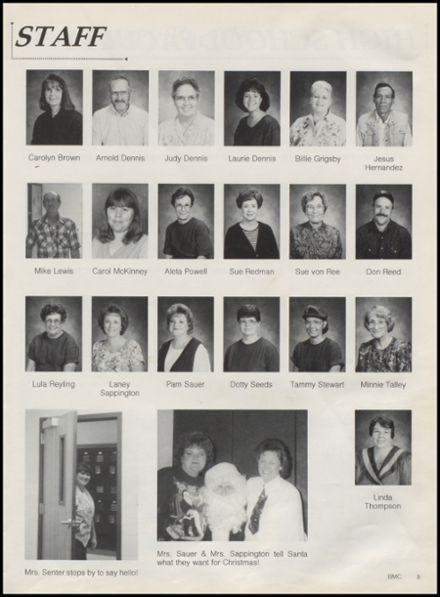 1996 St. Jo High School Yearbook Page 9