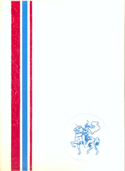1972 Lakeshore High School Yearbook Cover