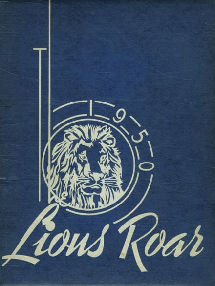 1950 Lyons High School Yearbook Cover