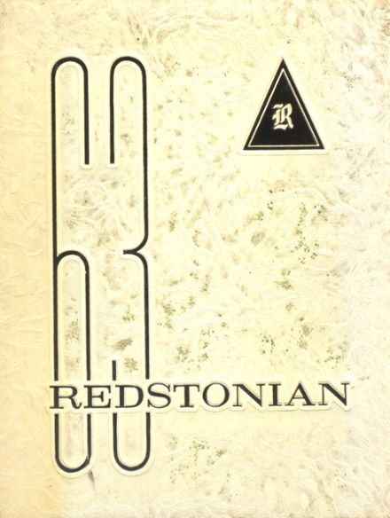 1963 Redstone Township High School Yearbook Cover
