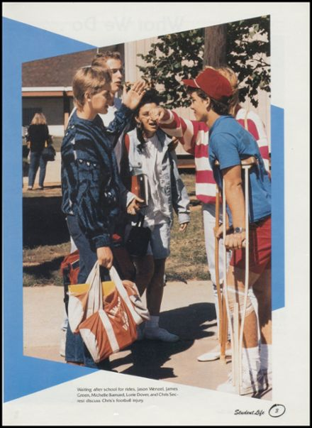 1988 West Mid-High School Yearbook Page 7