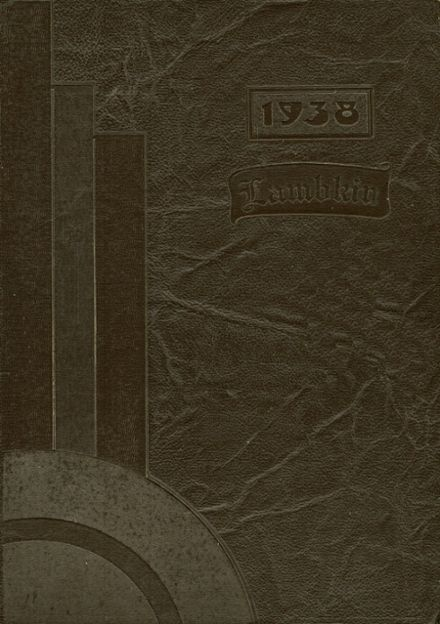 1938 Ft. Collins High School Yearbook Cover