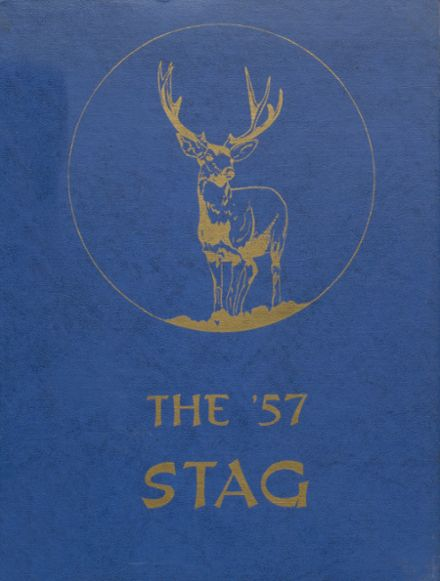 1957 St. Agatha High School Yearbook Cover