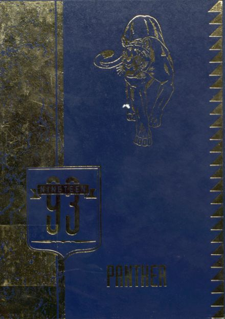 1993 Jal High School Yearbook Cover