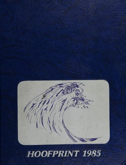 1985 San Dieguito High School Yearbook Cover