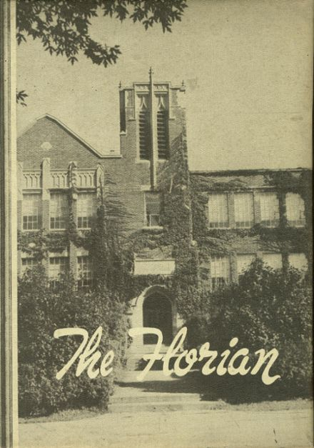 1952 Monroe High School Yearbook Cover