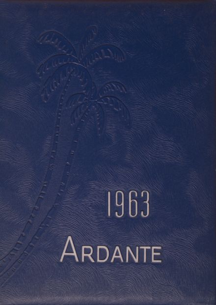 1963 Ashland High School Yearbook Cover
