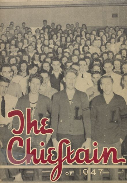 1947 Loveland High School Yearbook Cover