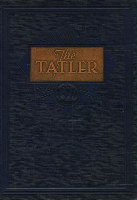 1931 William Penn High School Yearbook Cover