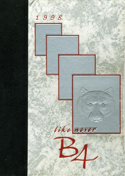 1998 Central Valley High School Yearbook Cover