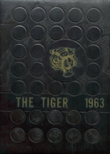 1963 Worth County R-III High School Yearbook Cover
