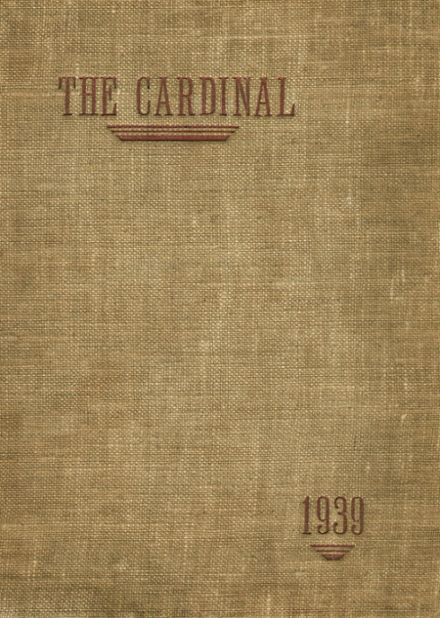 1939 St. Peter's High School Yearbook Cover