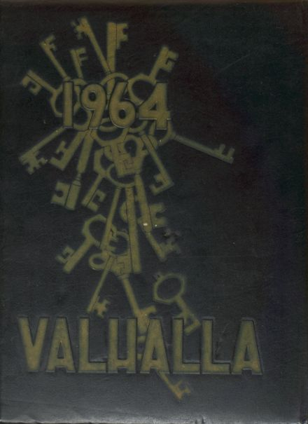 1964 Monroe High School Yearbook Cover