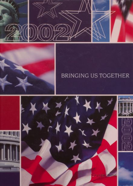 2002 Independence Christian High School Yearbook Cover