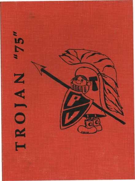 1975 Paradise Valley High School Yearbook Cover
