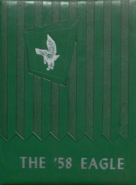 1958 Stratton High School Yearbook Cover