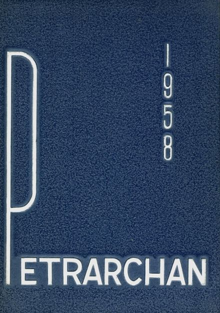 1958 St. Peter's High School Yearbook Cover