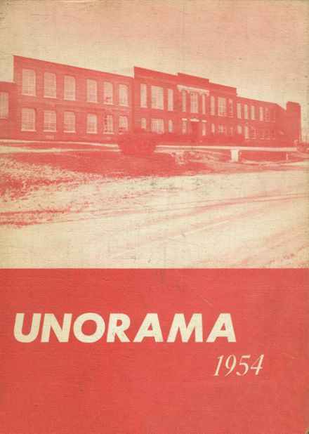1954 Union High School Yearbook Cover