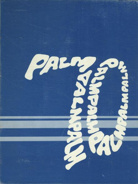 1970 St. Agnes High School Yearbook Cover