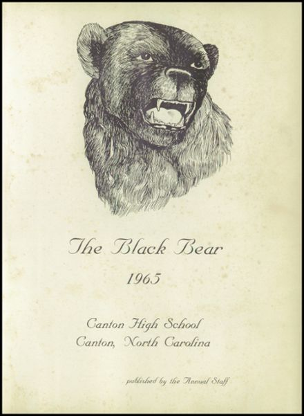 1965 Canton High School Yearbook Page 5