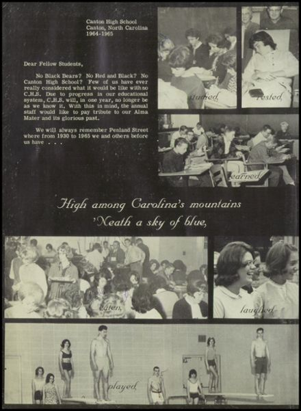 1965 Canton High School Yearbook Page 6