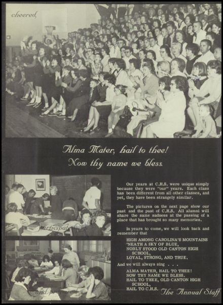 1965 Canton High School Yearbook Page 8
