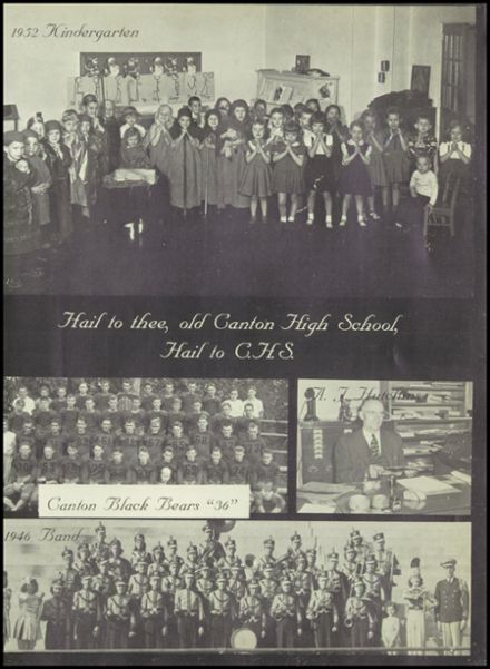 1965 Canton High School Yearbook Page 9