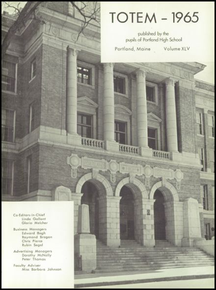 1965 Portland High School Yearbook Page 5