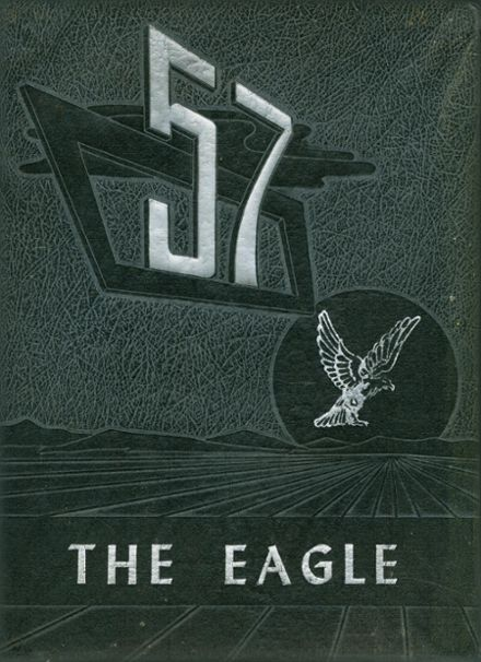 1957 Lindale High School Yearbook Cover
