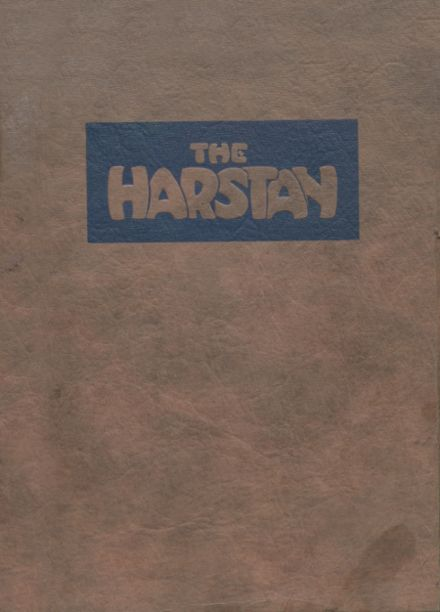 1923 Harter Stanford Township High School Yearbook Cover
