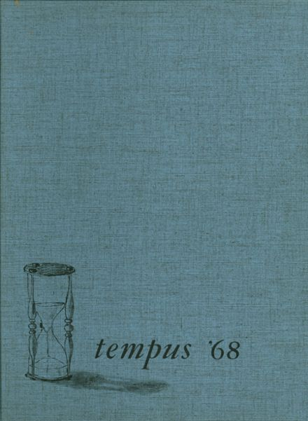 1968 Terryville High School Yearbook Cover