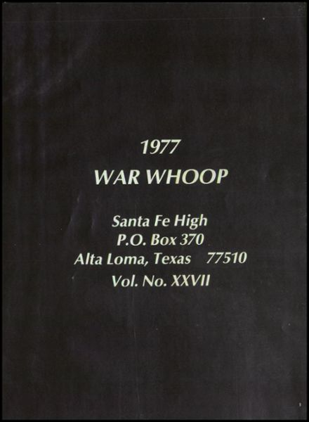 1977 Santa Fe High School Yearbook Page 5