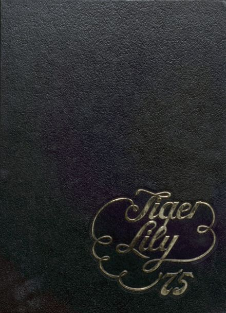 1975 Port Allegany High School Yearbook Cover
