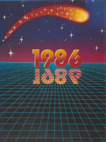 1986 Kennedy High School Yearbook Cover