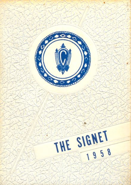 1958 Charlotte Catholic High School Yearbook Cover