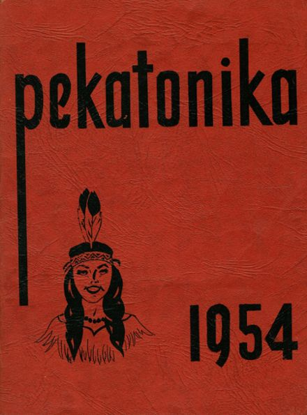 1954 Darlington High School Yearbook Cover