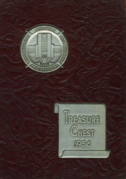 1956 Mepham High School Yearbook Cover