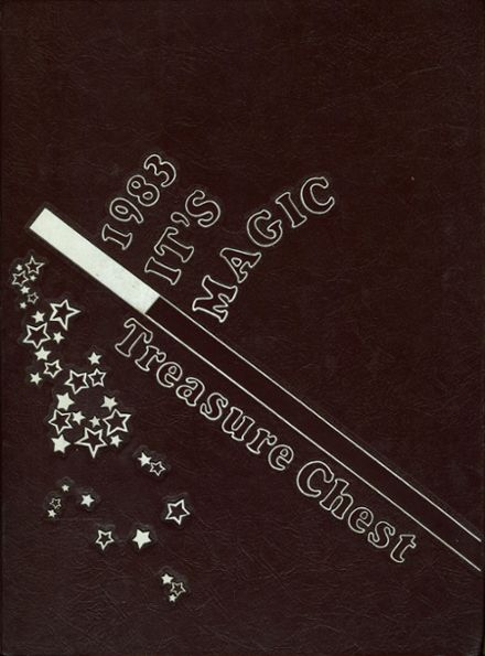 1983 Mepham High School Yearbook Cover