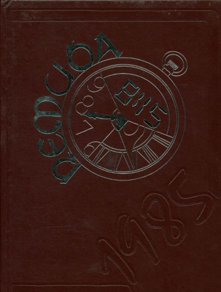 1985 Walther Lutheran High School Yearbook Cover