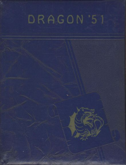 1951 Dallas High School Yearbook Cover